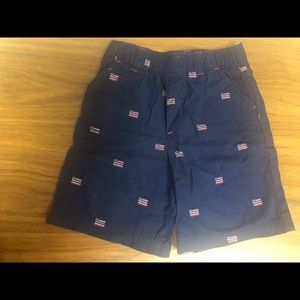 American Flag Boys Shorts 4T